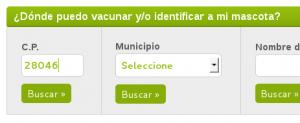 Buscador de centros veteterinarios de madrid. Rabia 2014